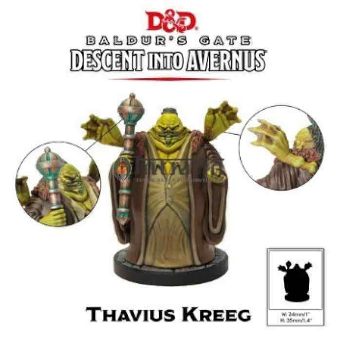 Dungeons & Dragons: Descenso a Averno: Thavius Kreeg TABLERUM