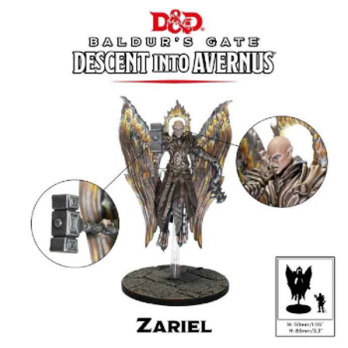 Dungeons & Dragons: Descenso a Averno: Zariel TABLERUM