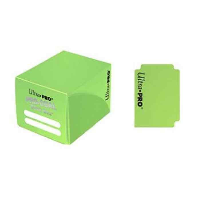 Deck Box Ultra Pro: Pro Dual Small - Light Green TABLERUM