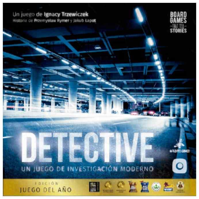 Detective: Edición Juego del Año TABLERUM