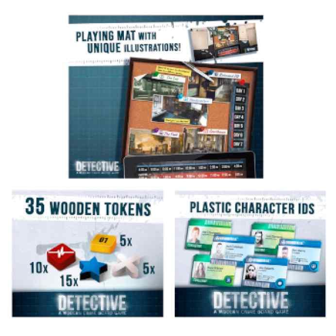Detective: Pack Promo en español TABLERUM