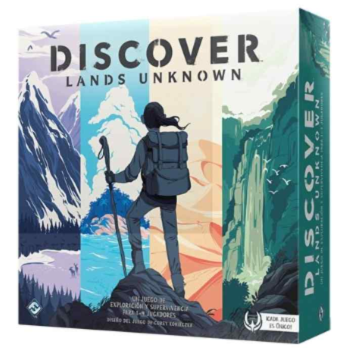 Discover: Lands Unknown TABLERUM