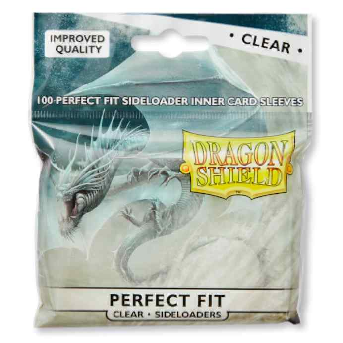 Fundas Dragon Shield Perfect Fit SIDELOADERS Clear TABLERUM