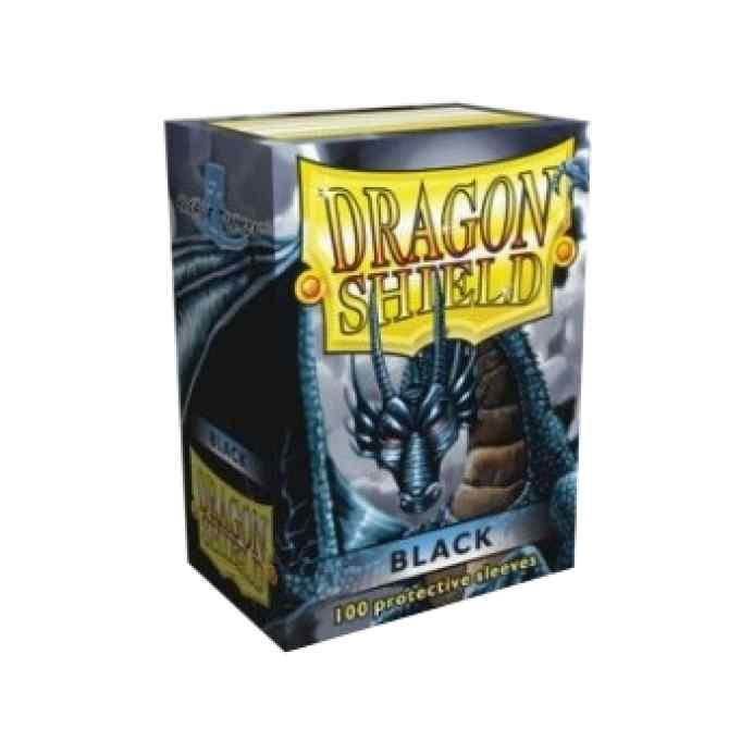 Fundas Dragon Shield 100 Black TABLERUM