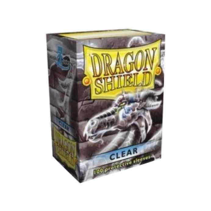Fundas Dragon Shield 100 Transparente TABLERUM