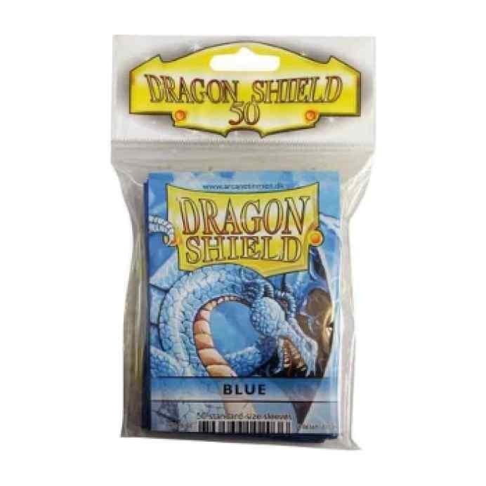 Fundas Dragon Shield 50 Azul TABLERUM