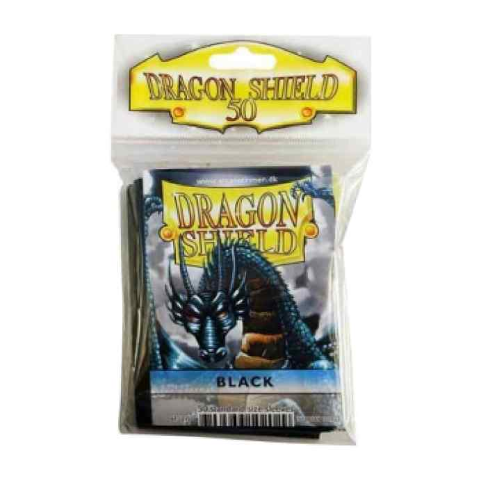 Fundas Dragon Shield 50 Black TABLERUM