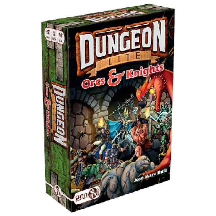 Dungeon Lite, Orcs and Knights TABLERUM