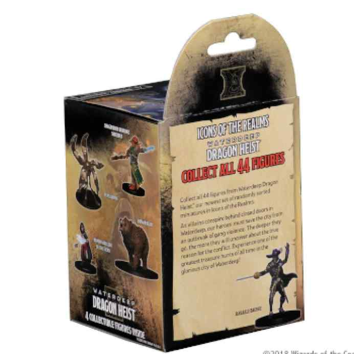 Dungeons & Dragons: Icons of the Realms - Waterdeep Dragon Heist 8 Ct. Booster Brick (Set 9) TABLERUM