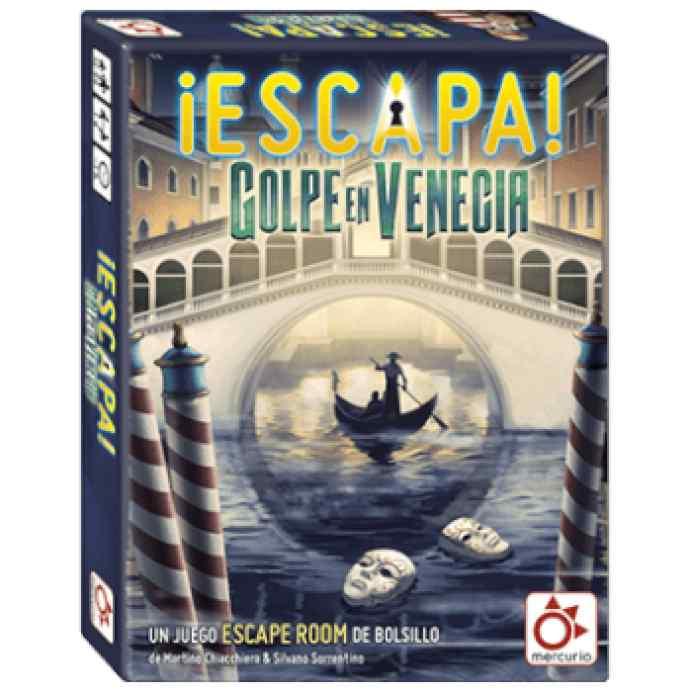 ¡Escapa!: Golpe en Venecia TABLERUM