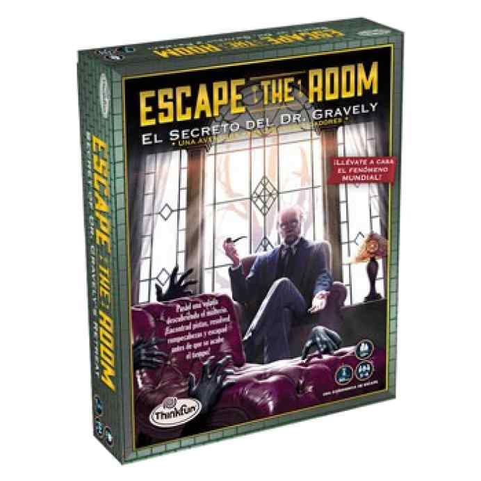 Escape the Room: Escape the Room: El secreto del Dr. Gravely TABLERUM
