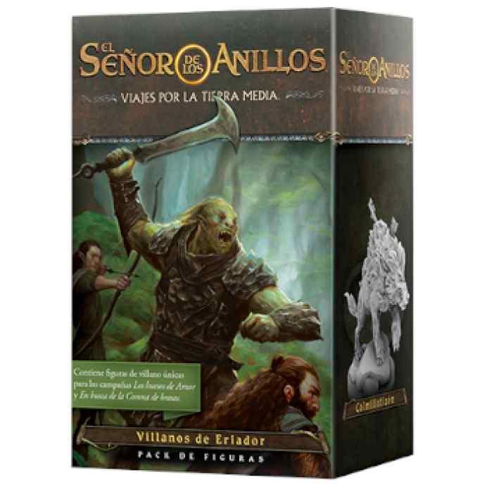El Señor de los Anillos: Viajes por la Tierra Media: Pack de figuras Villanos de Eriador TABLERUM