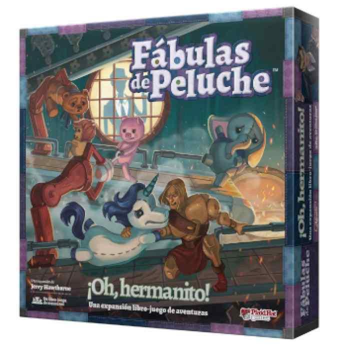 Fábulas de Peluche: ¡Oh, hermanito! TABLERUM