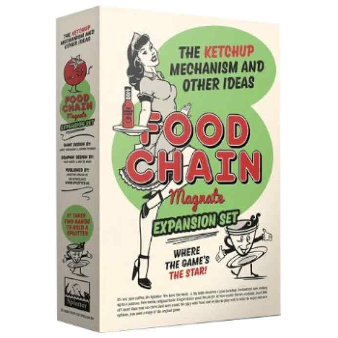 Food Chain Magnate: The Ketchup Mechanism and Other Ideas TABLERUM