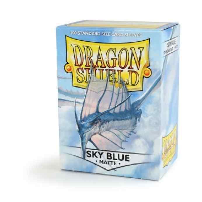 fundas dragon shield matte azul cielo