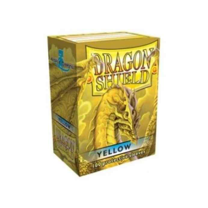 fundas dragon amarillas