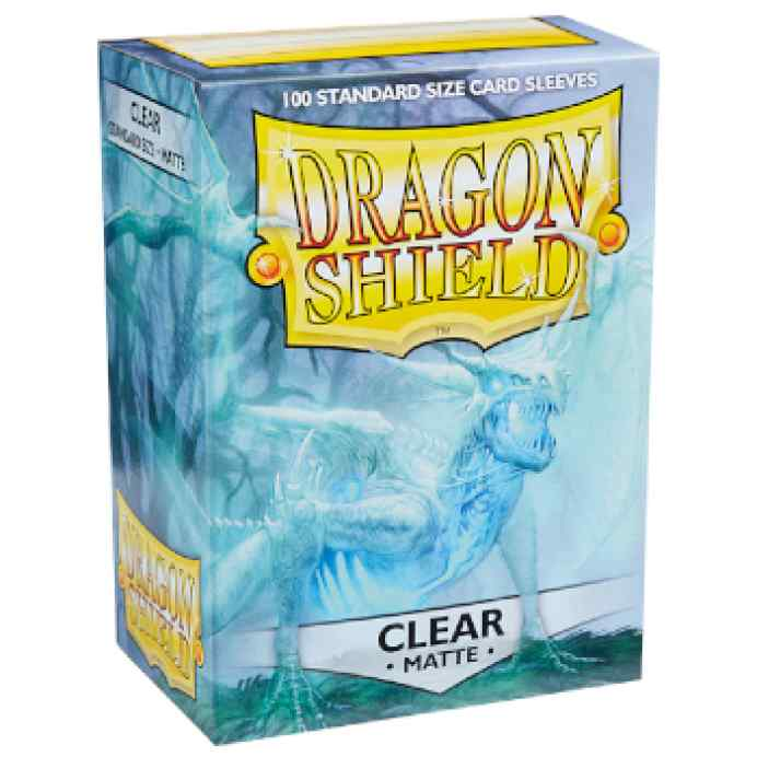 Fundas Standard Dragon Shield Clear Matte Transparente (100) TABLERUM
