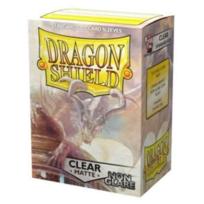 Fundas Dragon Shield Matte Non Glare Clear Standar (100) TABLERUM