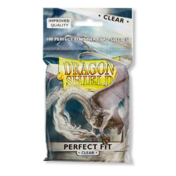 Fundas Standard Dragon Shield Perfect Clear (100) TABLERUM