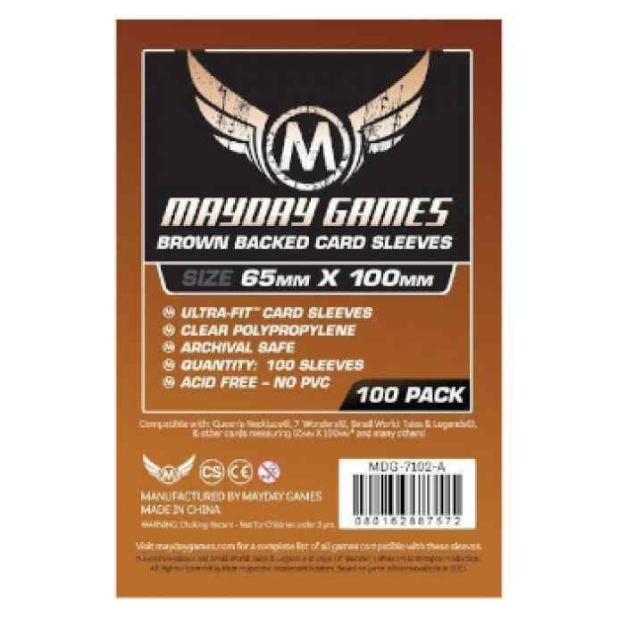 Fundas Mayday 65 x 100 Magnum Ultra Fit Brown Backed (7Wonders) (100 uds) TABLERUM