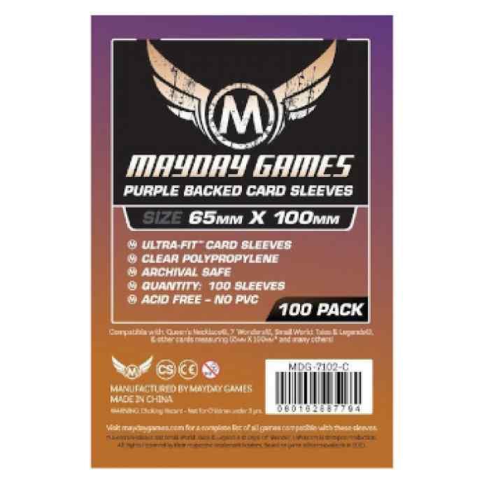 Fundas Mayday 65 x 100 Magnum Ultra Fit Purple Backed (7Wonders) (100 uds) TABLERUM