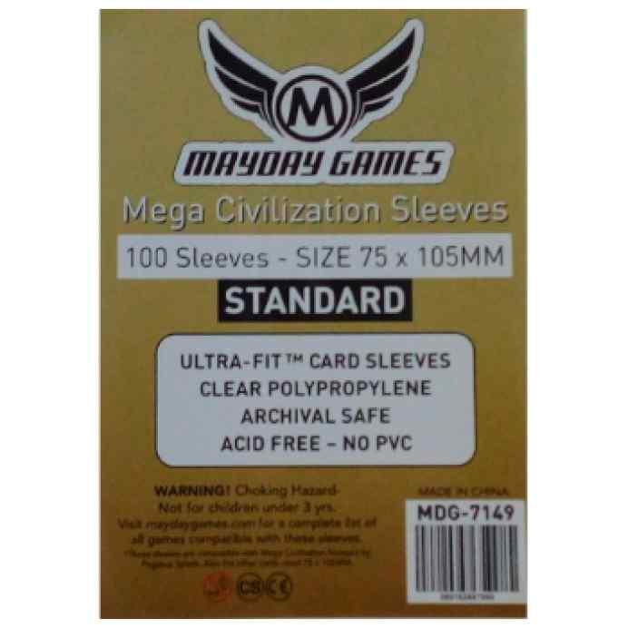 Fundas Mayday Standard Mega Civilization 75x105 (100) TABLERUM