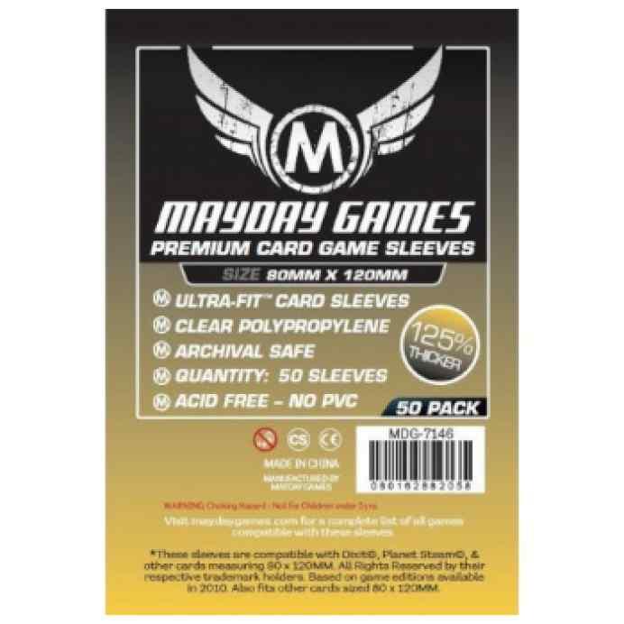 Fundas Mayday 80x 120 Premium Magnum Gold Sleeve (Dixit...) (50) TABLERUM