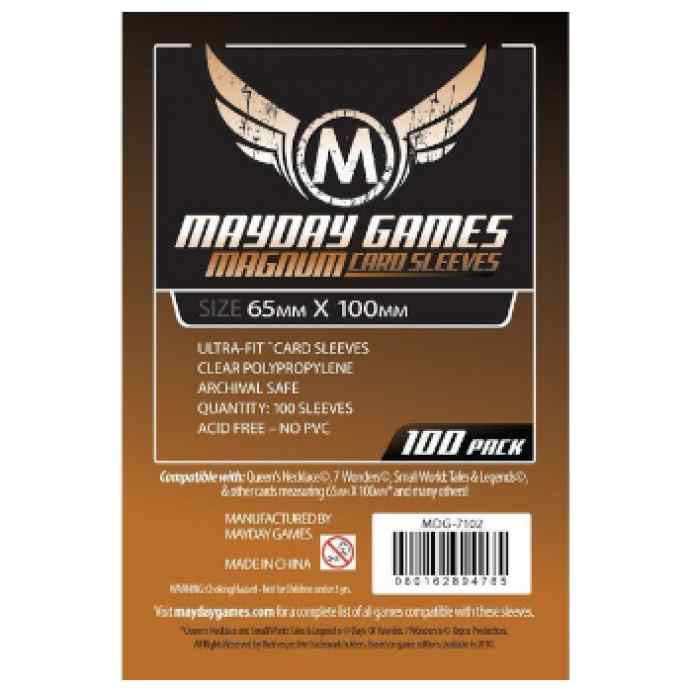 Fundas Mayday 65 x 100 Magnum Cooper Sleeves (7Wonders) (100 uds) TABLERUM
