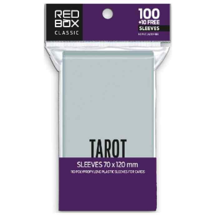 Fundas Redbox 70 x 120 60mic TAROT Classic TABLERUM