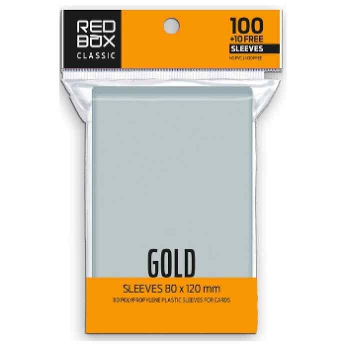 Fundas Redbox 80 x 120 60mic GOLD Classic (110 unid) TABLERUM