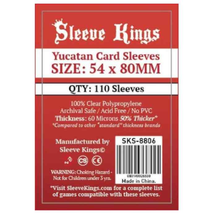 Fundas Sleeve Kings Yucatan 54x80 (110 uds) TABLERUM
