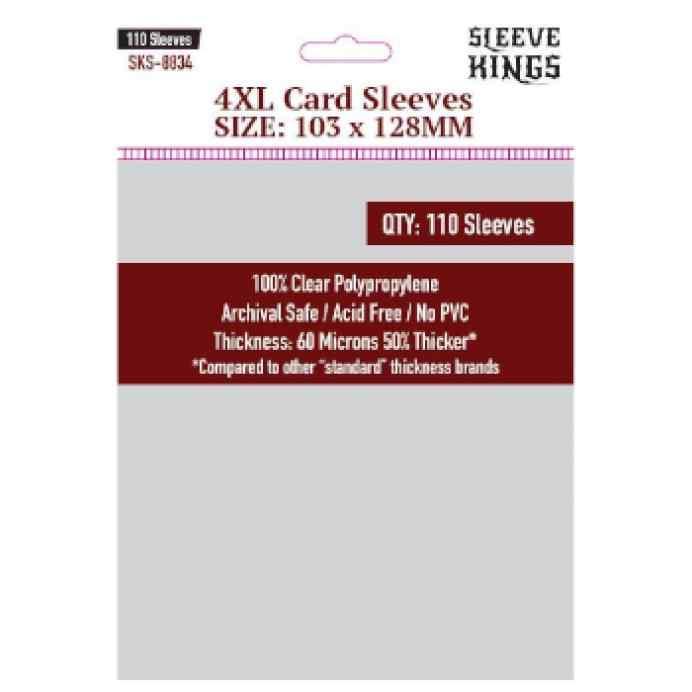 Fundas Sleeve Kings 4XL Sleeves 103 x 128mm (110 uds) TABLERUM
