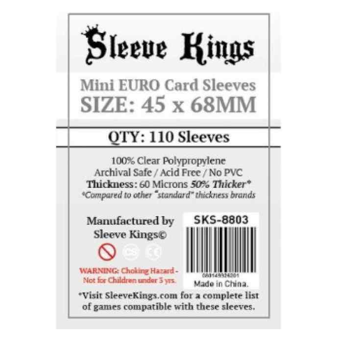 Fundas Sleeve Kings Mini Euro 45x68 TABLERUM