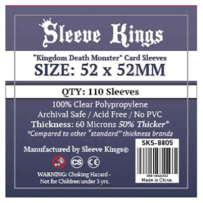 Fundas Sleeve Kings Kingdom Death Monster 52x52 TABLERUM