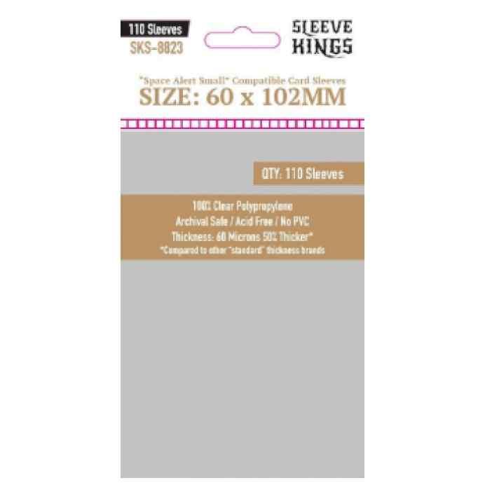 Fundas Sleeve Kings Space Alert Compatible Sleeves 60x102mm (110 uds) TABLERUM