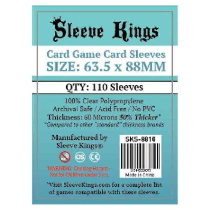 Fundas Sleeve Kings Standard 63.5x88 (110 uds) TABLERUM