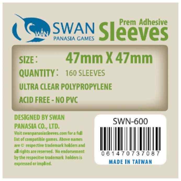 Fundas Swan Panasia 47 x 47 Estandar (160 uds) TABLERUM