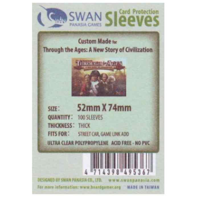Fundas Swan Panasia 52 x 74 Premium (100 uds) TABLERUM