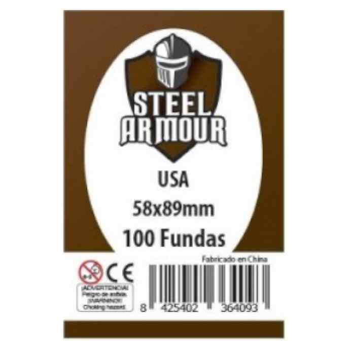 Fundas Steel Armour USA 58 x 89 (100 uds) TABLERUM