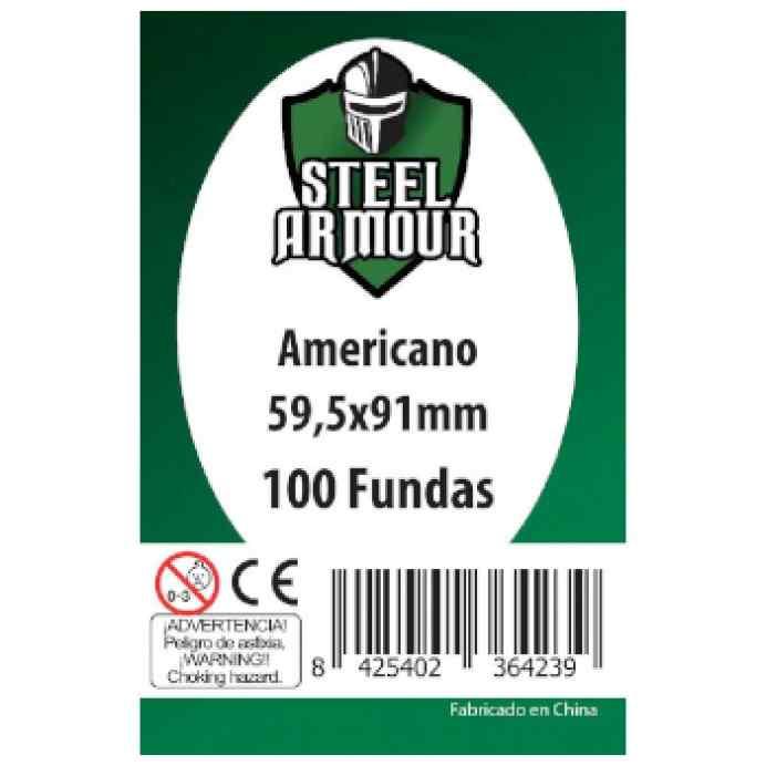 Fundas Steel Armour USA 59,5 x 91 (100 uds) TABLERUM