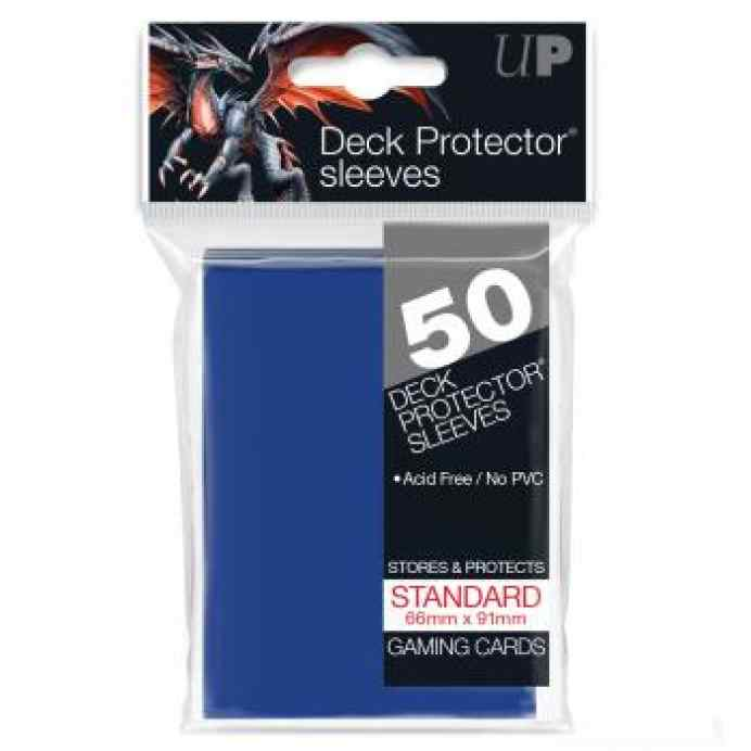 Fundas Standard ULTRA PRO Color Azul: 66x91 (50 uds) TABLERUM