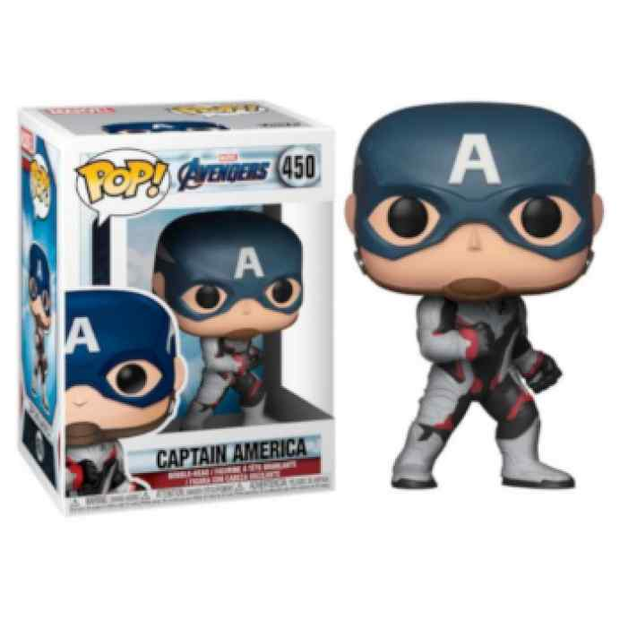 Funko POP Marvel Endgame: Capitán América TABLERUM