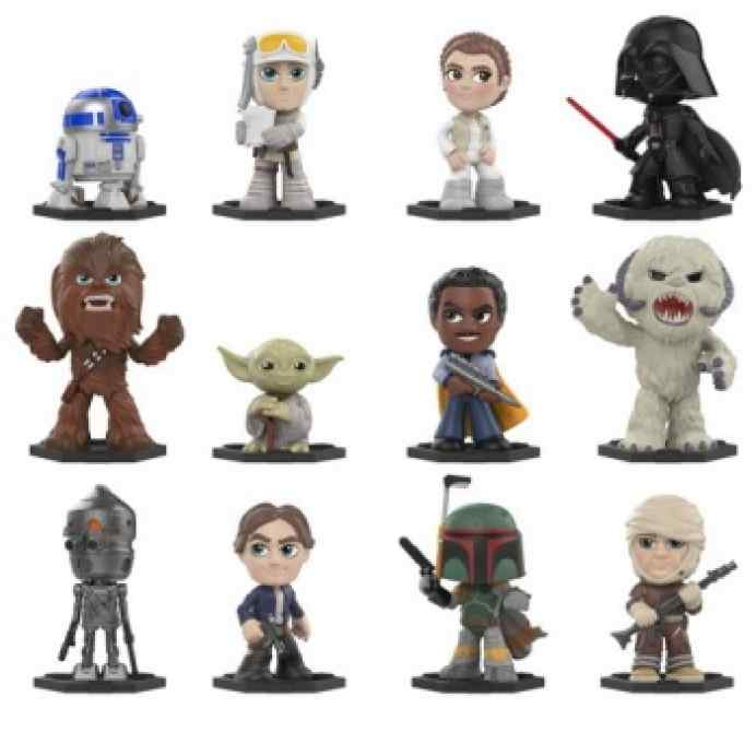 Funko Mistery Minis: Star Wars: El Imperio Contraataca TABLERUM
