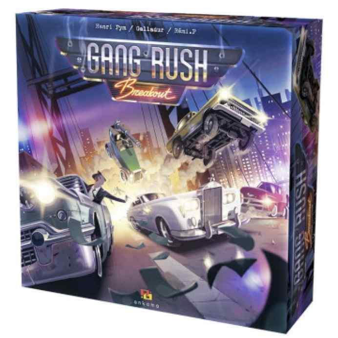 juego de mesa gang rush breakout caja