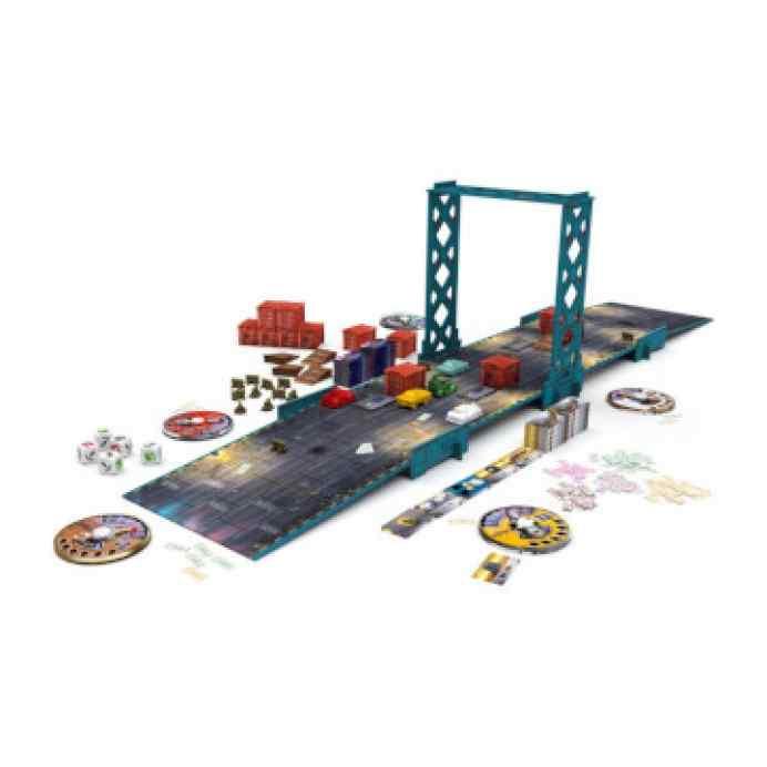 juego de mesa gang rush breakout abierto
