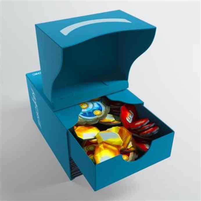 Keyforge Gemini Blue Deck Box ML TABLERUM