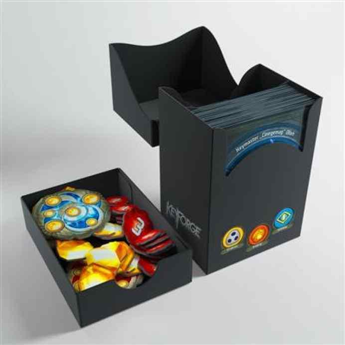 Keyforge Gemini Black Deck Box ML TABLERUM