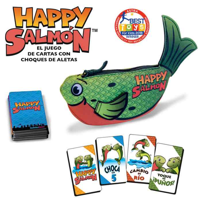 Happy Salmon TABLERUM