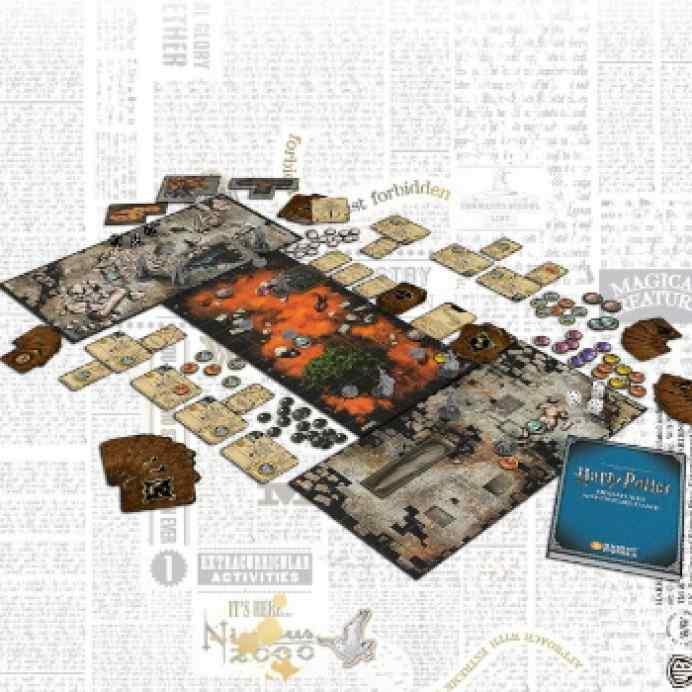 Harry Potter Miniatures Adventure Game TABLERUM
