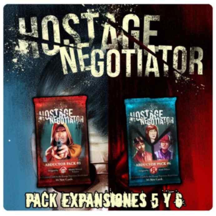 Hostage Negociador: Expansiones 5 y 6 TABLERUM